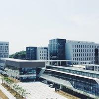 Photo taken at 대구경북과학기술원 by Kay K. on 4/23/2014