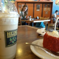 Photo taken at Heine Brothers' Coffee by Kymberly F. on 6/24/2014