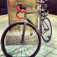 Photo taken at North Hollywood MTA Metro Red Line Bike Lockers by Coolass M. on 1/20/2013