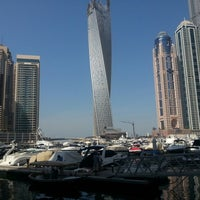 Photo taken at Dubai Marina Walk by Halil D. on 10/25/2012