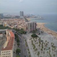 Photo taken at Torre d'Alta Mar by Karoline Kyhring Moberget on 7/23/2013
