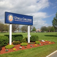 Photo taken at Utica College by Dr S. on 5/15/2014