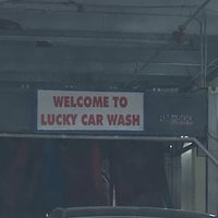 Photo taken at Lucky Car Wash by Tonie B. on 9/12/2017