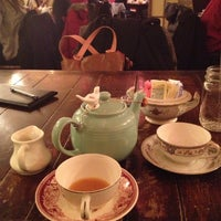 Photo taken at Alice's Tea Cup by Christina M. on 12/11/2012