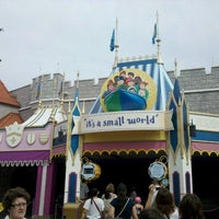 Photo taken at it's a small world by George D. on 9/25/2012