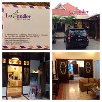Photo taken at Lovender Guest House & Resto by albert t. on 8/14/2014