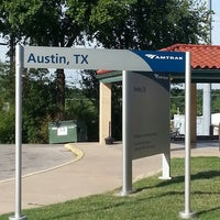 Photo taken at Austin Train Station - Amtrak (AUS) by Jesse S. on 6/8/2013
