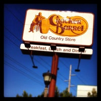 Photo taken at Cracker Barrel Old Country Store by Hannah on 9/30/2012
