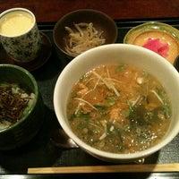Photo taken at 和食庵 さいか by はっしぃ on 3/11/2013