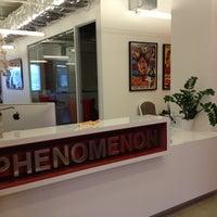Photo taken at PHENOMENON HQ by Hai T. on 8/1/2013