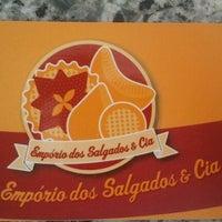 Photo taken at Emporio dos Salgados & Cia. by Binho A. on 10/1/2012