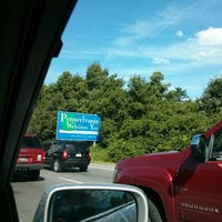 Photo taken at Delaware / Pennsylvania State Border by Mandie S. on 8/15/2013