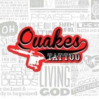 Photo taken at Quakes Tattoo by Rafael D. on 5/12/2013