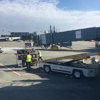 Photo taken at Gate A5 by Klaudia S. on 3/6/2017