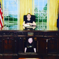 Photo taken at The Oval Office by Amy on 4/4/2016