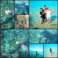Photo taken at Pulau Siladen by Marcella on 8/17/2013