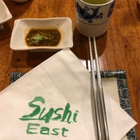 Photo taken at Sushi East by Yuli L. on 6/11/2017