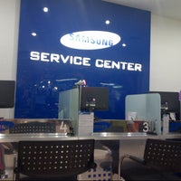 Photo taken at Samsung Service Center by beybee l. on 9/20/2012