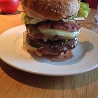 Photo taken at Gourmet Burger Kitchen by Tim M. on 7/6/2013
