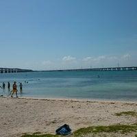 Photo taken at Bahia Honda Key by Desiree M. on 4/14/2013