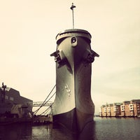 Photo taken at USS Wisconsin (BB-64) by Ben M. on 12/28/2012