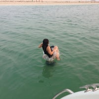 Photo taken at Banana Island Resort Doha by Anantara by Winky S. on 9/11/2013