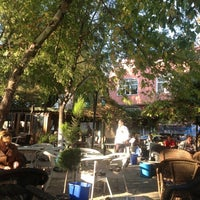Photo taken at Tunca Cafe by Emirhan on 10/20/2012