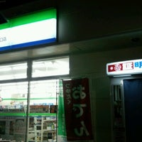 Photo taken at FamilyMart by Cafe on 11/1/2012