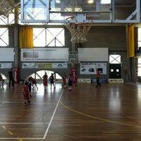 Photo taken at Pavelló Municipal by Maira on 4/12/2014