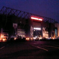 Photo taken at Manchester United Museum & Tour Centre by safinaz s. on 1/4/2013
