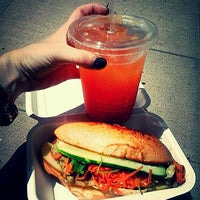 Photo taken at Num Pang Sandwich Shop by Anja D. on 7/30/2013