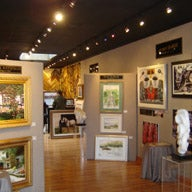 Photo taken at Sunflower Fine Art Galleries, Mirrors, and Picture Framing by Drew W. on 4/26/2013