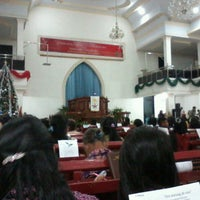 Photo taken at GMIM Baitani Lapangan by Pingkan S. on 12/24/2012
