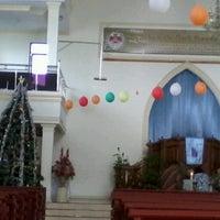 Photo taken at GMIM Baitani Lapangan by Pingkan S. on 12/9/2012