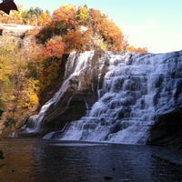 Photo taken at Ithaca Falls by Jeff on 10/20/2012