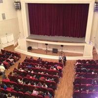Photo taken at Teatro Municipal José Bohr by Pame on 10/23/2012