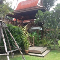Photo taken at Baan Thai House Homestay by Laurent on 9/12/2013