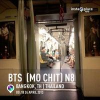 Photo taken at BTS Mo Chit (N8) by Bancha O. on 4/23/2013