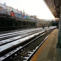 Photo taken at MTA Subway - 20th Ave (N) by Justin G. on 1/28/2014