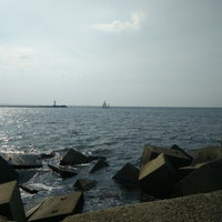 Photo taken at Mangaļsalas Chillspots/Viewplace by Andrew S. on 8/24/2018
