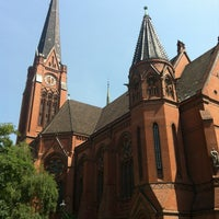 Photo taken at American Church in Berlin by Anastage on 6/19/2013