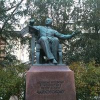 Photo taken at Московская государственная консерватория им. П. И. Чайковского by Juliana on 10/2/2012