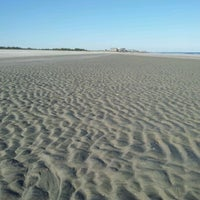 Photo taken at Pawleys Island Beach by Red M. on 11/1/2012