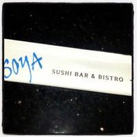 Photo taken at Soya Sushi by Slightly Stoopid on 8/13/2013