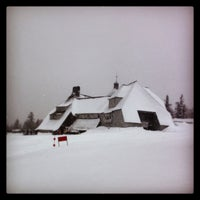 Photo taken at Timberline Lodge by Kyle L. on 1/26/2013