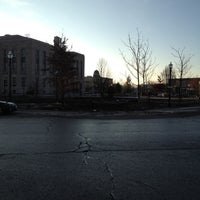 Photo taken at Courthouse Square by Kimberley on 12/13/2012