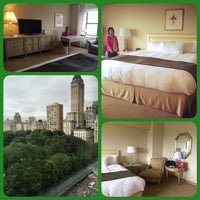 Photo taken at The Park Lane Hotel - A Central Park Hotel by Pat K. on 8/3/2014