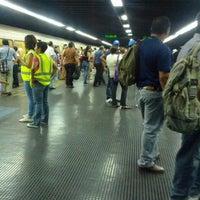 Photo taken at Metro - Los Dos Caminos by Luis Carlos A. on 7/15/2013
