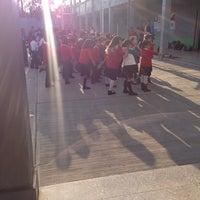 Photo taken at Escuela Primaria Republica de Francia by Victoria on 3/4/2014