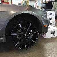 Photo taken at 901 Sounds Auto Accessories . Window Tinting . Car Audio .Custom Wheels Tires by Moe A. on 8/19/2015